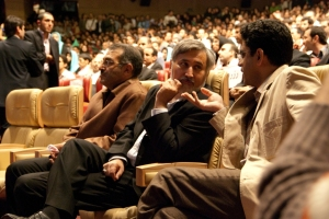 کریم ارغنده پور، محمدرضا خاتمی و عبداله رمضان زاده - عکس از علی شیخ الاسلامی