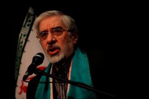 میرحسین موسوی - عکس از احسان ملکی