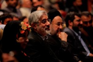 رمضان زاده، آرمین، خاتمی، رهنورد و موسوی - عکس از احسان ملکی