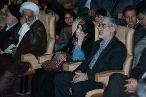 میرحسین موسوی و زهرا رهنورد - عکس از علی شیخ الاسلامی